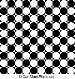 Domino  like table abstract black on transparent background
