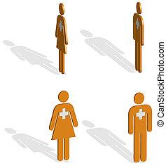 3D Emergency figures