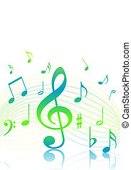 Music background - Music theme colorful background