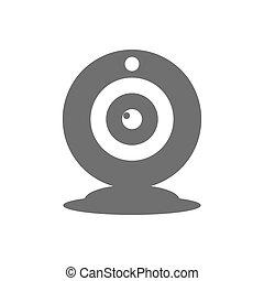 Webcam icon vector