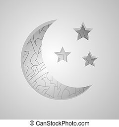 imaginative moon - Creative design of imaginative moon
