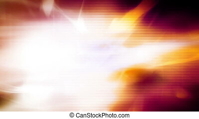 Solar flare abstract loop - Flashes color abstract solar...