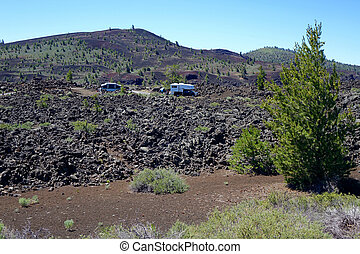 Rough Camping - Idaho - Camping in Idaho's Craters of the...