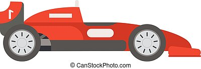 Retro sport car vector - Race retro sport car Supercar...