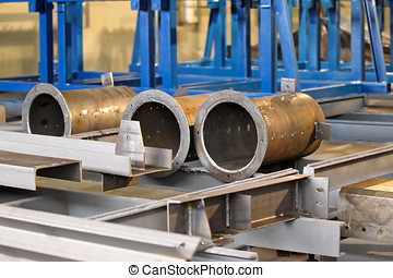 metal large-diameter pipes - Steel structures of large...