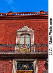 Window Balcony Red Wall San Miguel de Allende Mexico