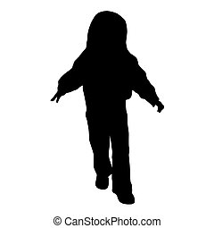 Toddler Silhouette