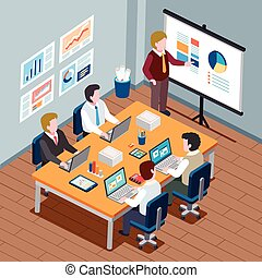 office meeting concept