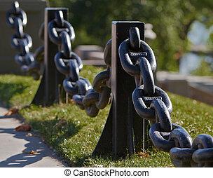 Anchor Chain Railing right