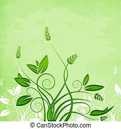 green foliage vector