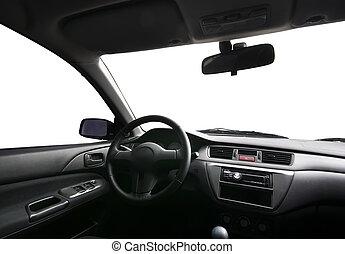 In car.