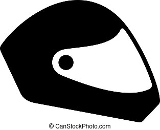 Paragliding helmet, shade picture