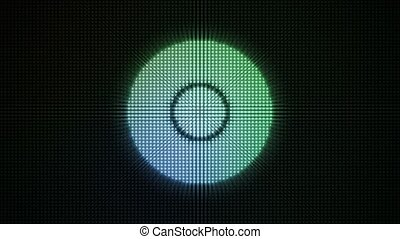 Dotty Radial Lights HD Loop