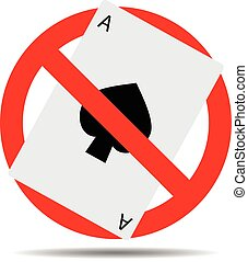 Ban card game gambling