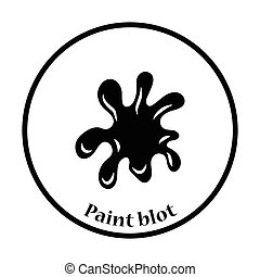 Paint blot icon
