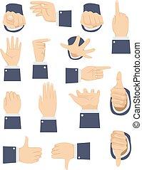 Different Hand Gesture