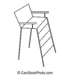 Images et illustrations de conciliator 30 illustrations for Chaise arbitre tennis