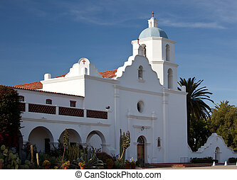 Mission San Luis Rey de Francia - Oceanside Mission known as...