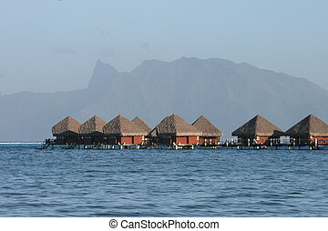 Paradise - Huts on the Water