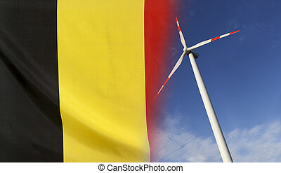 Concept Clean Energy in Belgium - Concept clean energy with...