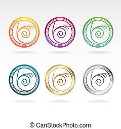 Shell icon set
