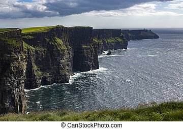 Cliffs of Moher - County Clare - Ireland - The Cliffs of...