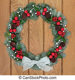 Christmas Spruce Fir Wreath