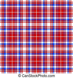 Abstract seamless checkered pattern - Repeating...