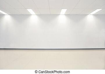 空間, 牆, 相片, 現代, 當代, 地板, 畫廊, 混凝土, 博覽會, 白色, 打開, 空