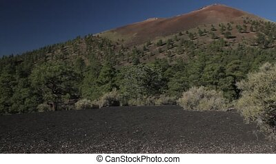 Sunset Crater Monument, Lava Field, Arizona, USA - Native...