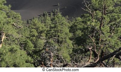 Sunset Crater Monument, Arizon, USA - Native Material,...