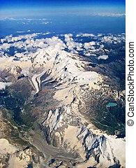 -,  Matterhorn, aéreo, vista