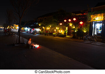 View of Hoi An at night
