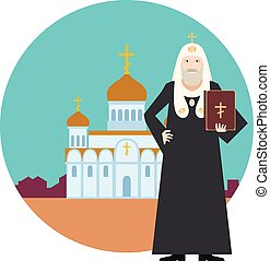 Orthodox Church Banner4 - Vector image of the orthodox...