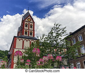 Collegiate Church of St. Bartholomew, Liege, Belgium -...
