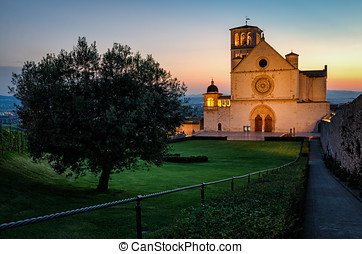 Assisi Umbria Basilica di San Francesco