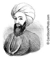Dost Mohammad Khan, former emir of Afghans, vintage...