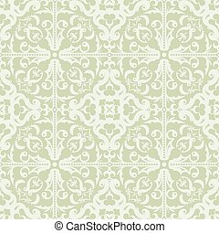 Seamless Abstract Tribal Pattern In Light Desaturated...