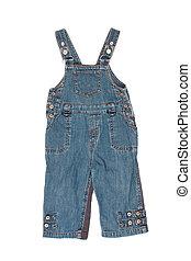 kids denim jumpsuit pants
