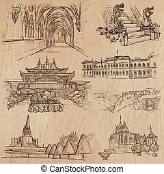 Architecture and Famous Places Vector pack - ARCHITECTURE...