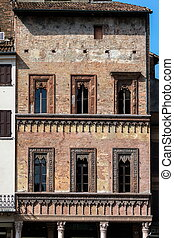 Merchant House in Mantua, Italy - Late Gothic and Venetian...