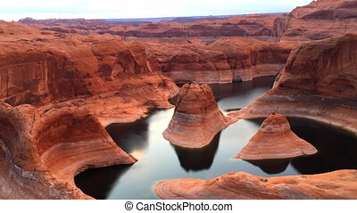 Reflection Canyon Utah Sunrise Time-lapse - Reflection...