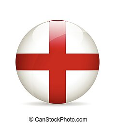 Flag of England. Vector illustration. - Flag of England....