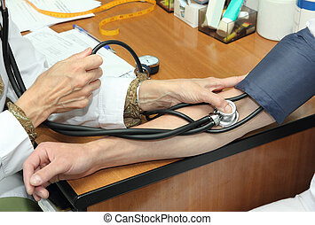 blood pressure measurement - medicine theme - blood pressure...