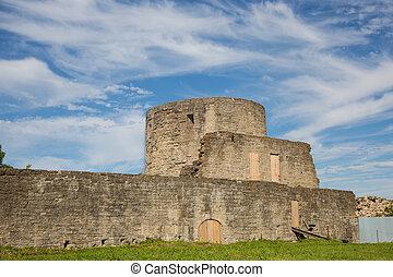Koporye fortress in Leningrad region, Russia - Ancient...