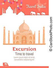Travel India Conceptual Poster - Travel India conceptual...
