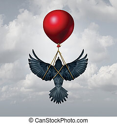 Assisted Living Concept - Assisted living concept as a bird...