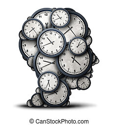 Thinking Time Concept - Thinking time concept as a group of...