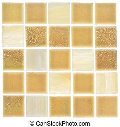 beautiful sandy smalt - beautiful satin square glass mosaic...