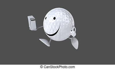 Golf - Computer animation